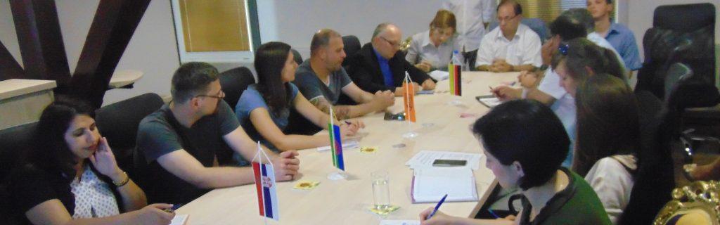 Poseta Udruženju Roma Braničevkog okruga grupe nemačkih savetnika koji rade sa povratnicima po Sporazumu o readmisiji